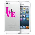 2x LOVE iPhone nalepke