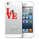 2x LOVE iPhone nalepke