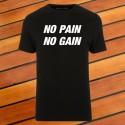 Majica NO PAIN NO GAIN