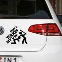 VW TOUCH Nalepka