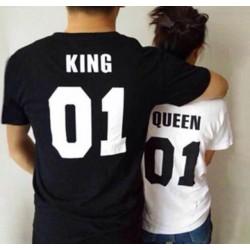 Komplet majic QUEEN KING