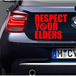 BMW RESPECT Nalepka