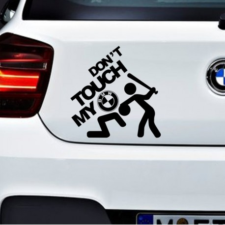 TOUCH BMW Nalepka