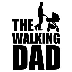 THE WALKING DAD Nalepka