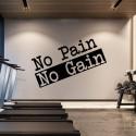 NO PAIN Nalepka