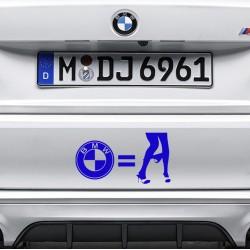 BMW GIRL Nalepka