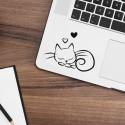 SLIPY CAT Nalepka