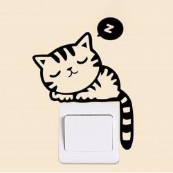 SLIPPY CAT Nalepka