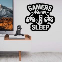 NEVER SLEEP Nalepka
