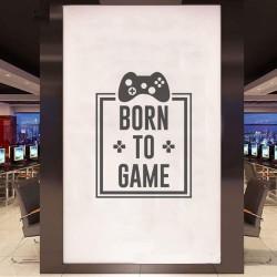 BORN TO GAME Nalepka