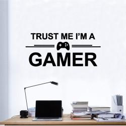 TRUST GAMER Nalepka