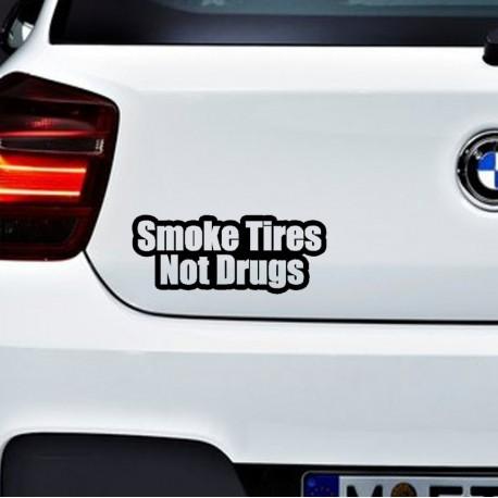SMOKE TIRES Nalepka